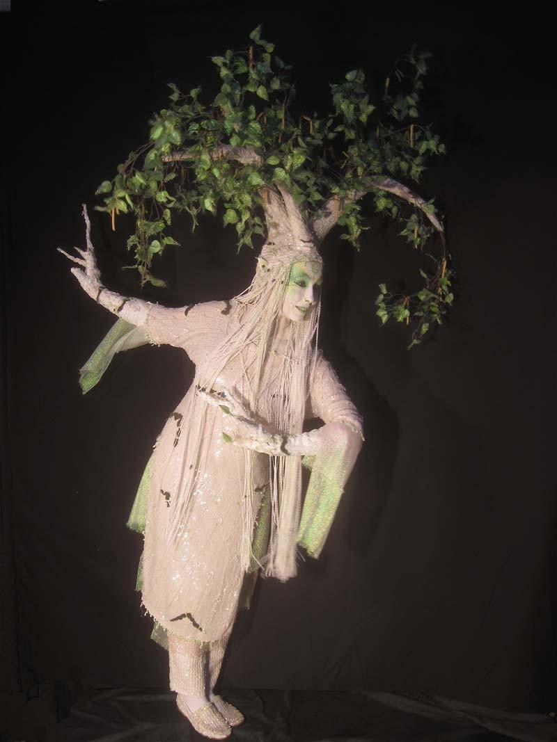 Birken-Elfe, Empfang-Event, Baum-Fee, Pantao
