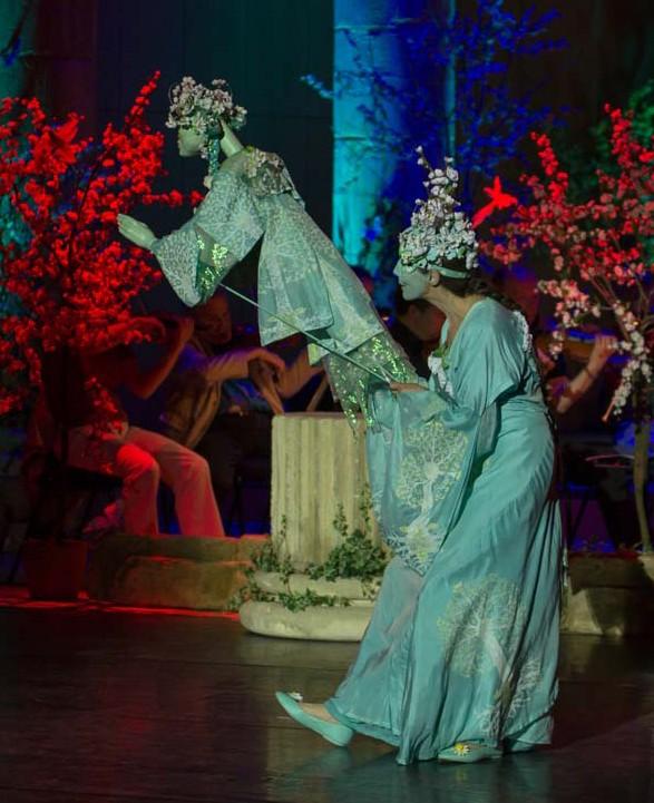 Blütenfee Pantao, Roncallis Circus meets Classic, Gasteig, München