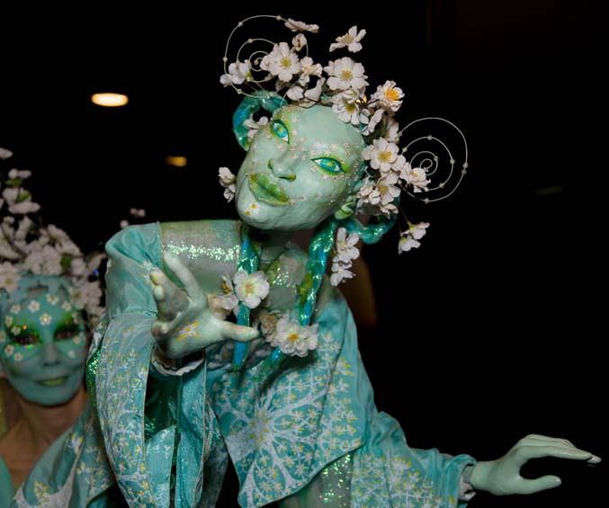 Blütenfee Pantao, Roncallis Circus meets Classic, Gasteig München