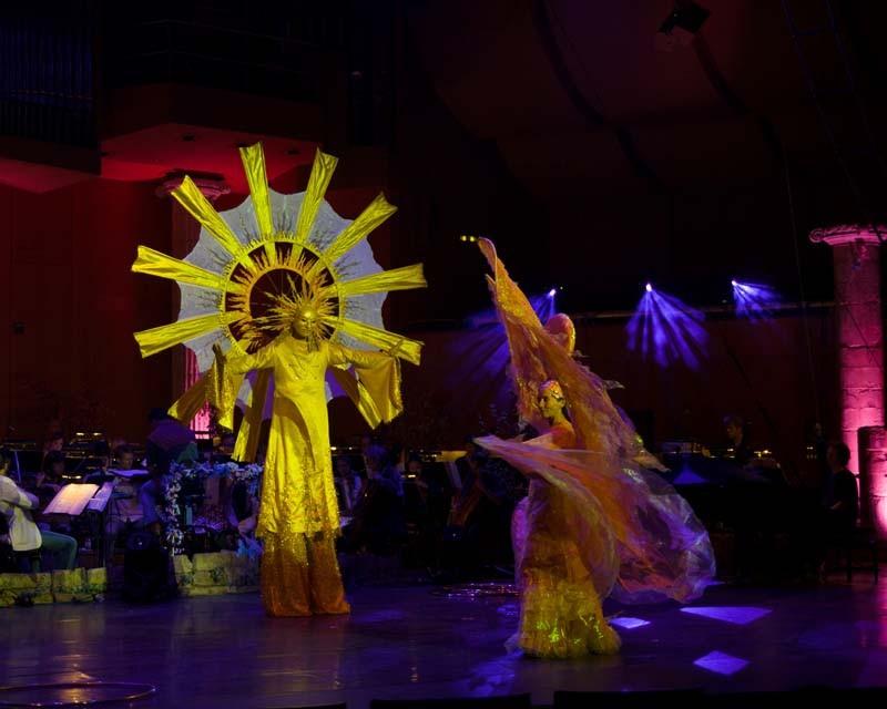 Morgenröte und Sonne Pantao, circus meets classic, Gasteig München