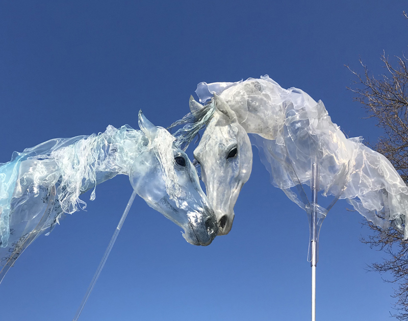 Luft Walking Act, Luft Performance, Luftwesen, Pferde walkingact, Pferdeshow, Horseshow, Horse Walking Act, Spectacle de chevaux,