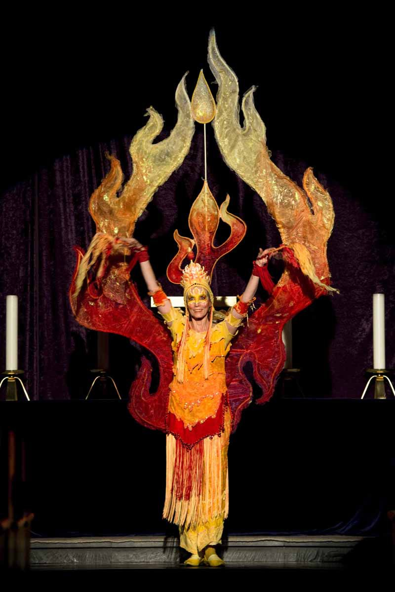 Tanzende Flamme Pantao
