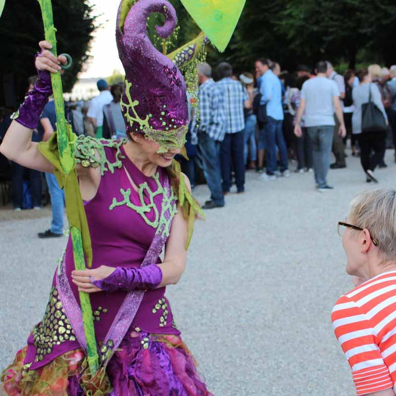 Wunschfee, Walkact Stadtfest