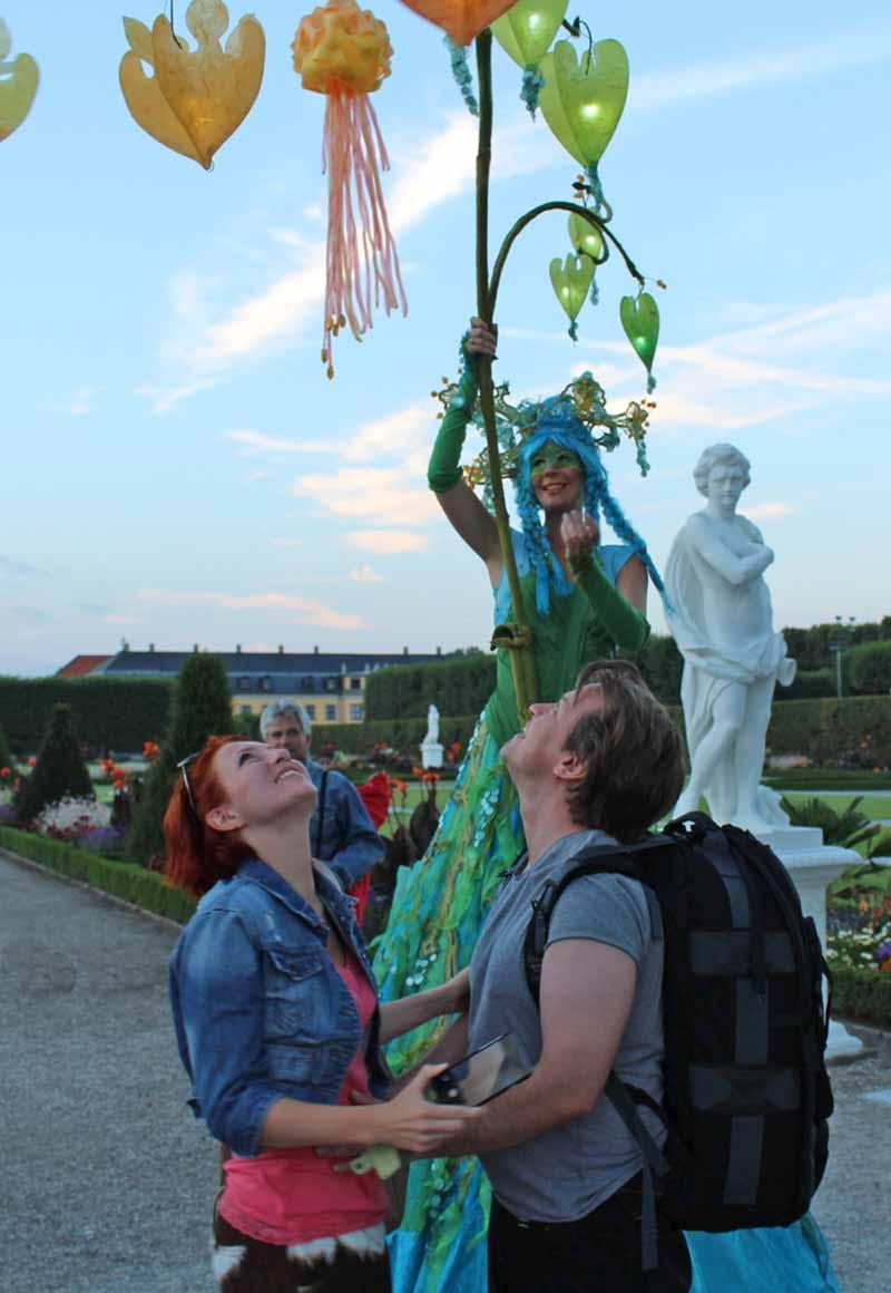 Wunschfee in den Herrenhauser Gärten Hannover