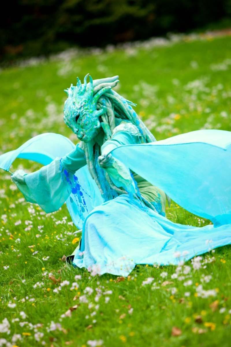 Wasserfrau Pantao, Hochzeit Feier, Hochzeitsfeier Wasser.