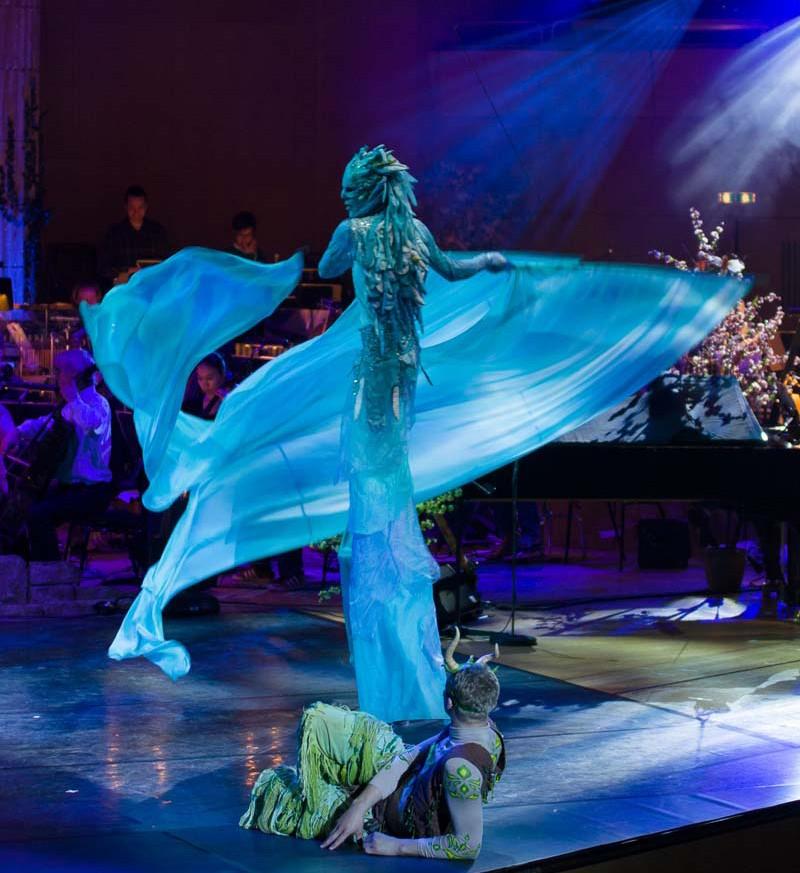 Wassermann Bühnenshow, Circus meets Classic, Gasteig München