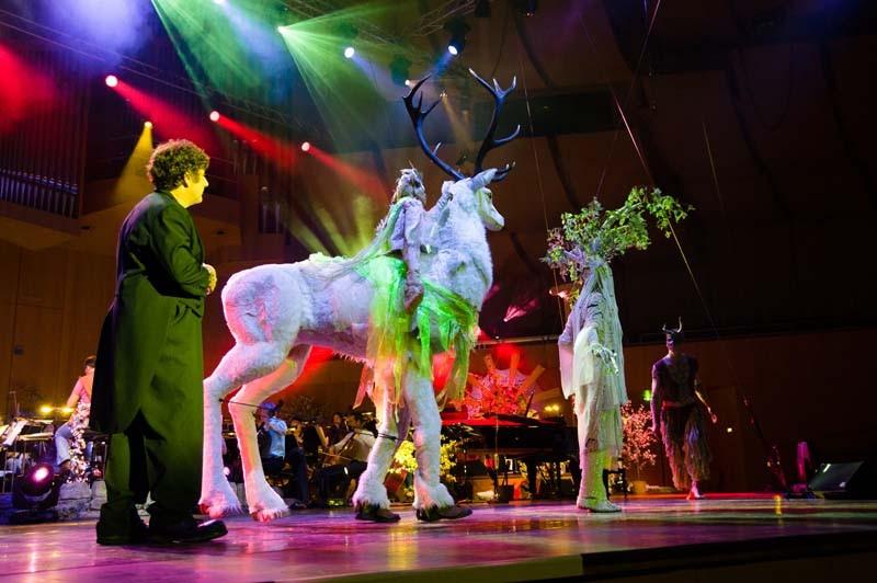 Weißer Hirsch Pantao, Circus meets Classic Münchner Gasteig